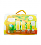 Weleda - Wellcome baby gift set with eco-friendly diaper set - Calendula