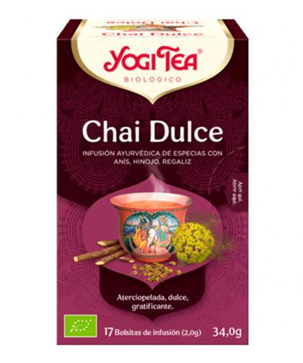 Yogi Tea - Infusion 17 Bags -   Sweet Chai
