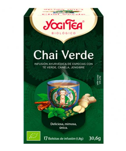 Yogi Tea - Infusion 17 Bags -  Green Chai