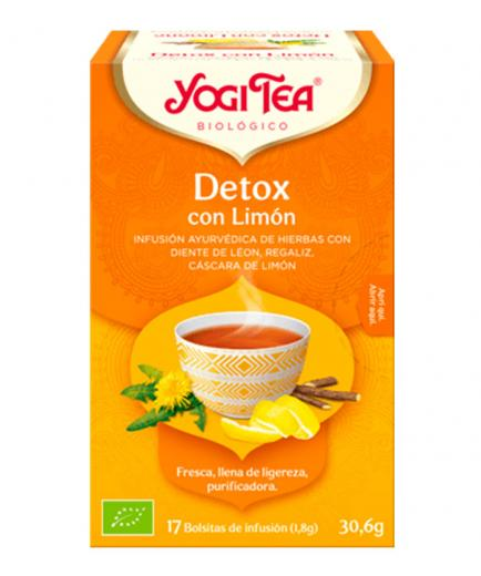 Yogi Tea - Infusion 17 Bags -   Detox with Lemon