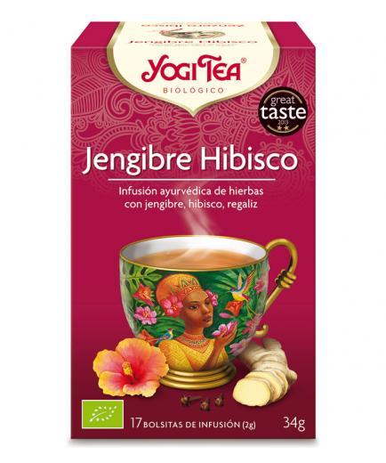 Yogi Tea - Infusion 17 Bags -  Ginger Hibiscus