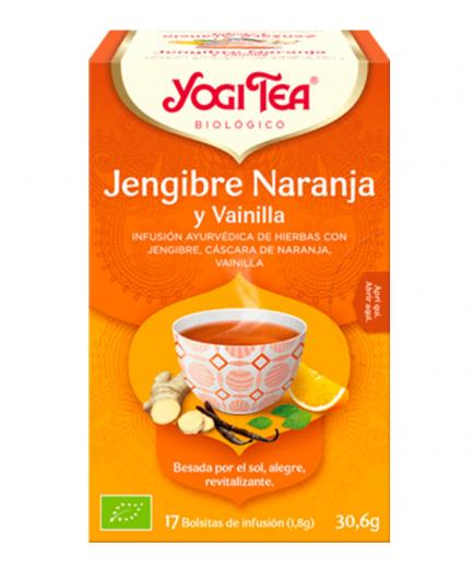 Yogi Tea - Infusion 17 Bags -   Ginger Orange with Vanilla