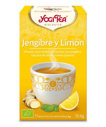 Yogi Tea - Infusion 17 Bags -  Tea Ginger Lemon