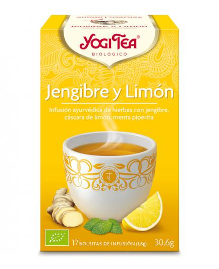 Yogi Tea - Infusion 17 Bags -  Tea Ginger Lemon