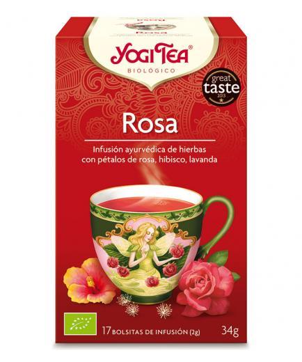 Yogi Tea - Infusion 17 Bags - Rose