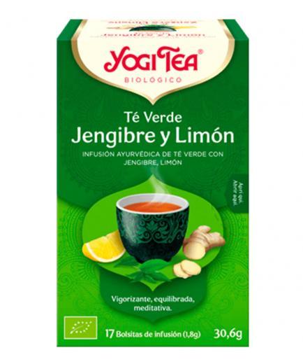 Yogi Tea - Infusion 17 Bags -  Green Tea Ginger Lemon