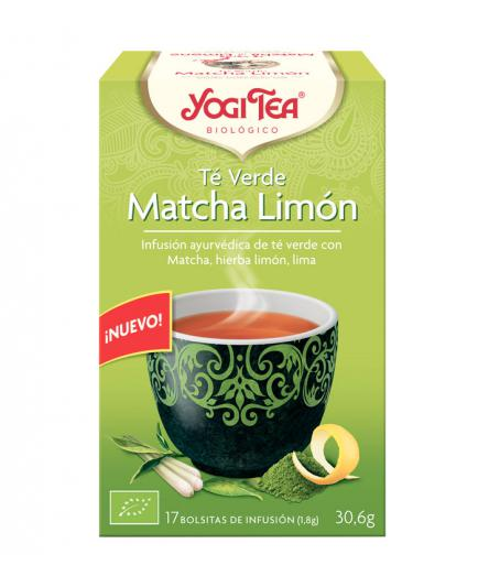 Yogi Tea - Infusion 17 Bags - Matcha green tea with lemon