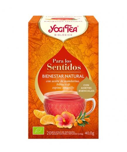 Yogi Tea - Infusion 20 bags for the Senses - Natural Wellness