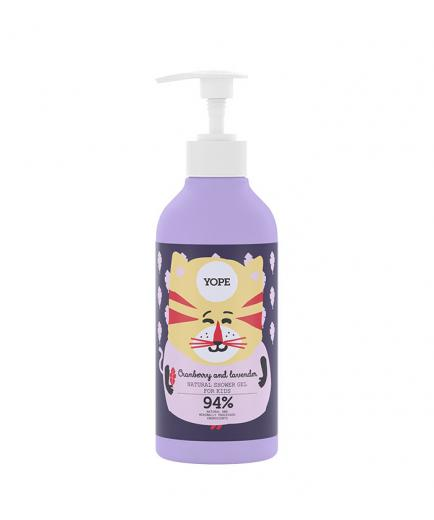 Yope - Shower gel for kids - Cranberry and lavender
