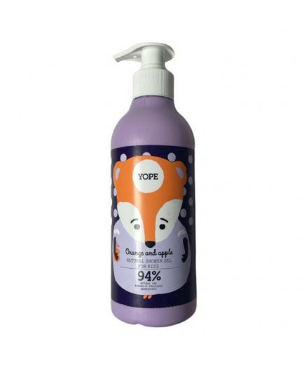 Yope - Shower gel for kids - Orange and apple