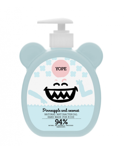 Yope - Antibacterial hand soap for kids - Pinneapple and coconut