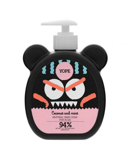 Yope - Hand soap for kids - Coconut and mint