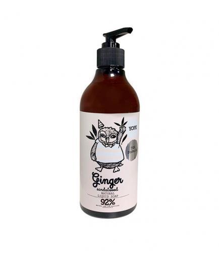 Yope - Natural Liquid Soap - Ginger and Sandalwood