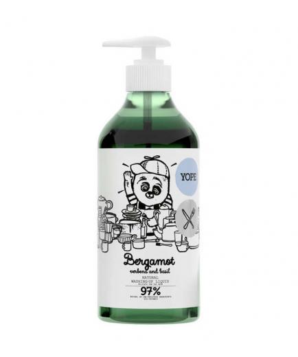 Yope - Natural Kitchen Hand Soap - Bergamot, verbena and basil 750ml