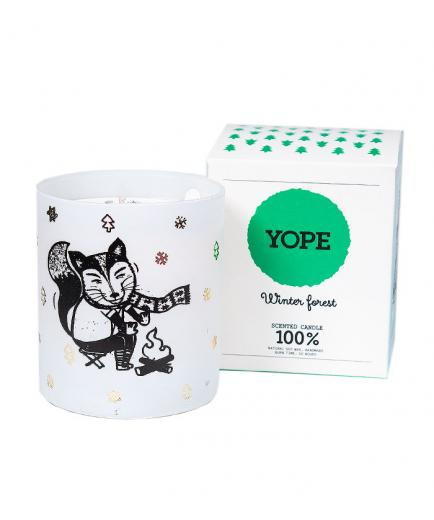 Yope - Scented candle - Winter Forest