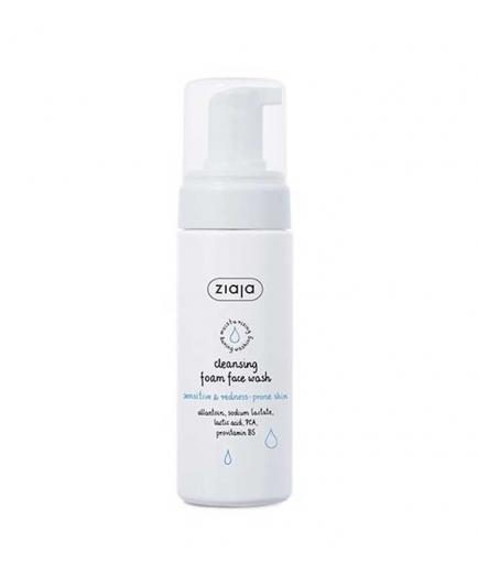 Ziaja - Foaming facial cleanser - Sensitive and red skin