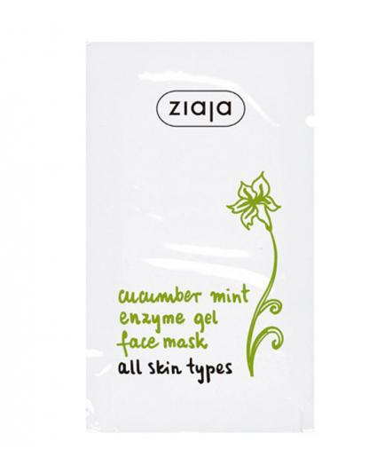 Ziaja - Cucumber mint enzyme gel face mask
