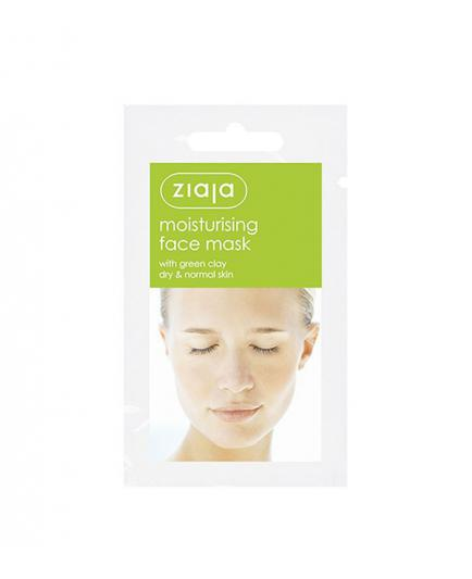 Ziaja - Facial mask moisturizing with Green Clay