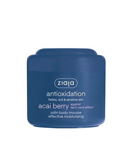 Ziaja - Satin body mousse effective moisturising - Acai Berry