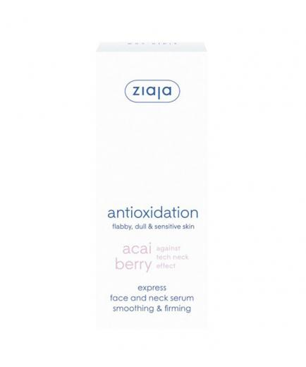 Ziaja - Express face and neck serum smoothing & firming - Acai Berry